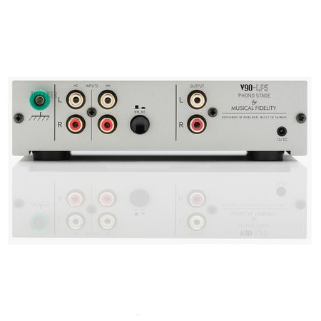 Musical Fidelity V90-LPS High Performance MM/MC Phono Stage silver – image 4
