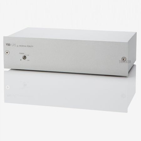 Musical Fidelity V90-LPS High Performance MM/MC Phono Stage silver – image 2