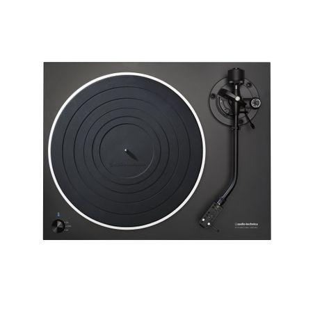 Audio Technica AT-LP5 Direktgetriebener Plattenspieler inkl. Haube mit AT 95 EX schwarz  – Bild 2