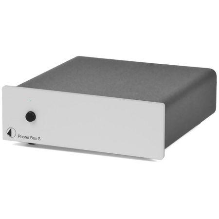 Pro-Ject Phono Box S Phono-Vorverstärker (MM/MC) Silber