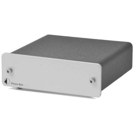 Pro-Ject Phono Box Phono-Vorverstärker (MM/MC) Silber