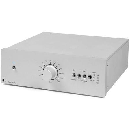 Pro-Ject Phono Box RS Phono-Vorverstärker (MM/MC) Silber