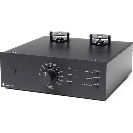 Pro-Ject Tube Box DS2 Röhren Phono-Vorverstärker - Schwarz