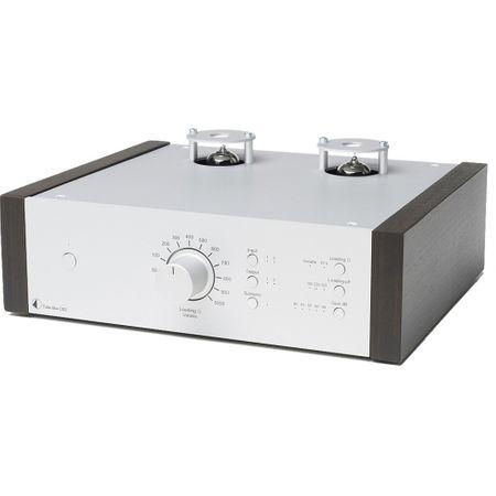 Pro-Ject Tube Box DS2 Röhren Phono-Vorverstärker - Silber / Eukalyptus