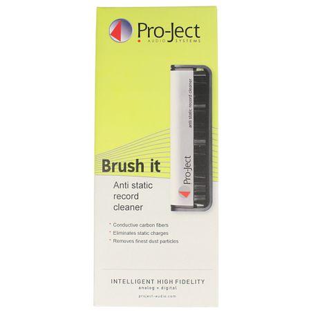 Pro-Ject Brush it Kohlefaser-Reinigungsbürste für Schallplatten – Bild 2