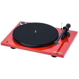 Pro-Ject Essential III RecordMaster - rot 001