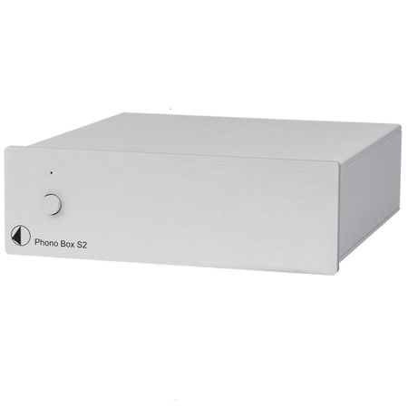 Pro-Ject Phono Box S2 MM/MC Phono Vorverstärker - silver – image 1
