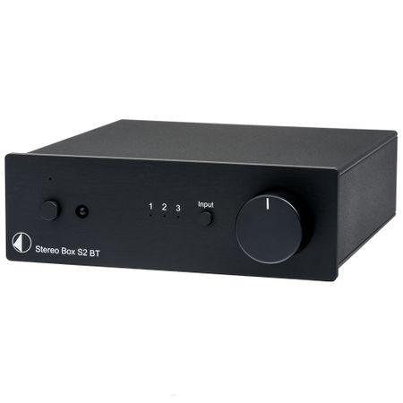 Pro-Ject Stereo Box S2 BT High End Vollverstärker mit Bluetooth Eingang - schwarz – Bild 1