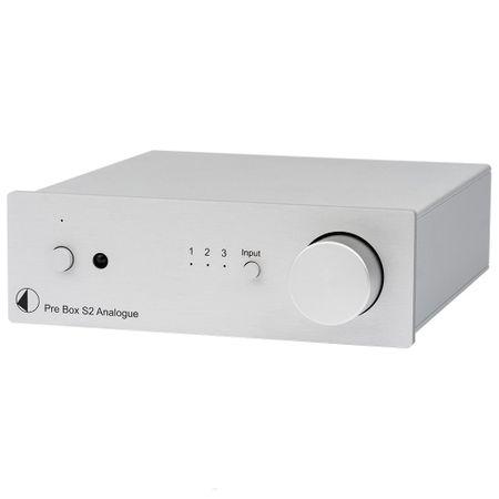Pro-Ject Pre Box S2 Analogue Stereo Vorverstärker - silber
