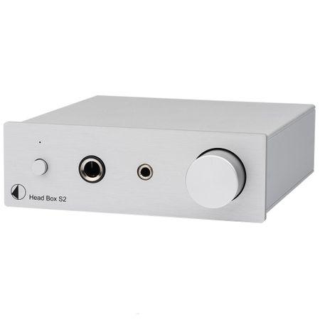 Pro-Ject Head Box S2 Mikro High End Kopfhörerverstärker - silber – image 1