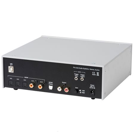 Pro-Ject DAC Box DS2 ultra High-End Digital/Analog-Wandler mit DSD & USB 2.0 - silber – Bild 2