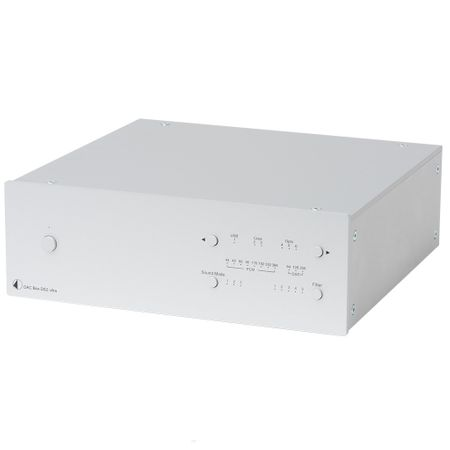 Pro-Ject DAC Box DS2 ultra High-End Digital/Analog-Wandler mit DSD & USB 2.0 - silber