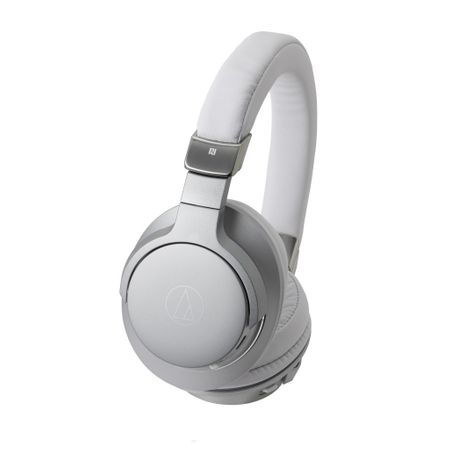Audio Technica ATH-AR5BT Wireless Over-Ear High-Resolution Headphones - silver