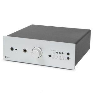 Pro-Ject MaiA DS - My audiophile integrated Amplifier Stereo-Vollverstärker mit 9 Eingangsoptionen & App-Steuerung - Silber 001