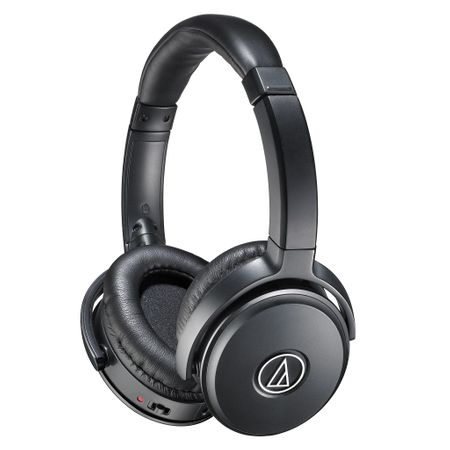 Audio Technica ATH-ANC50iS Active Noise-Cancelling On-Ear-Kopfhörer Schwarz
