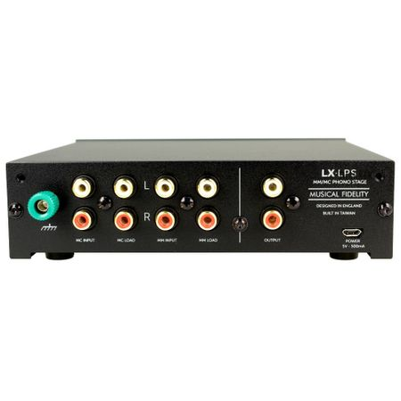 Musical Fidelity LX-LPS high-end + Upgrade Power Supply MM/MC phono stage black – image 2