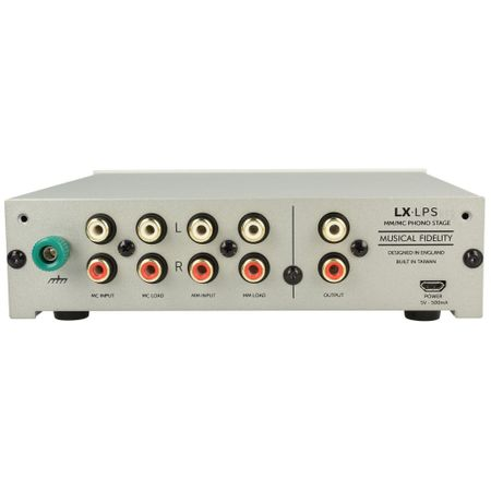 Musical Fidelity LX-LPS high end + Upgrade Power Supply MM/MC phono stage silver – image 2