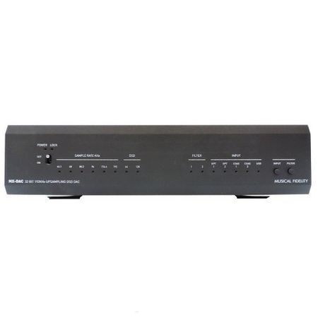 Musical Fidelity MX-DAC Audiophile D/A Wandler black