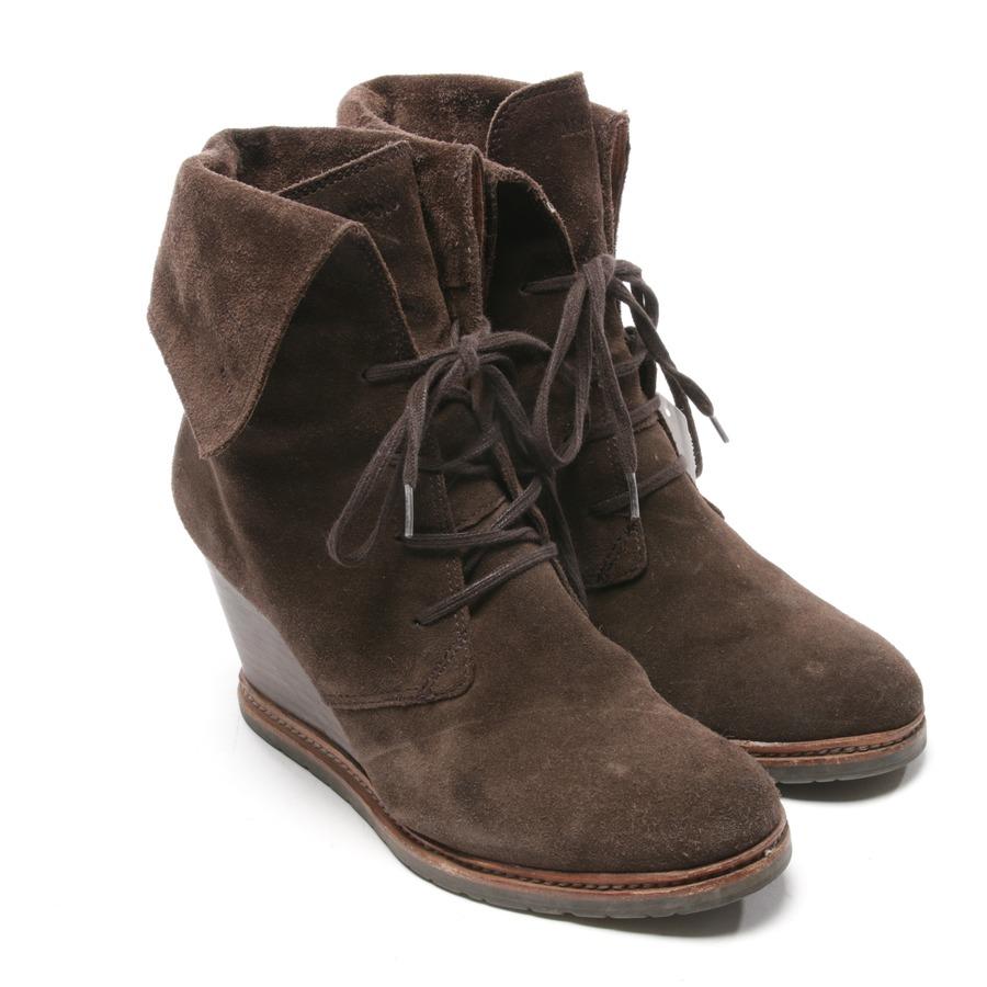 Marc O'Polo Flat Heel Medium Boot, Damen Stiefel, Braun