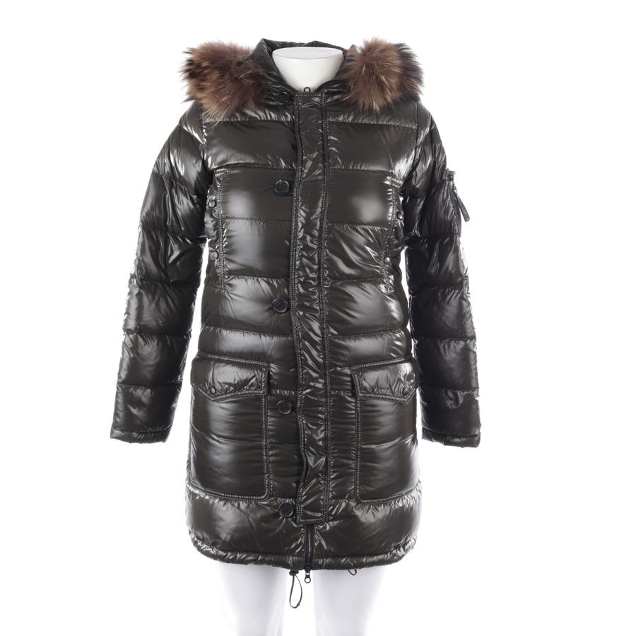 Details zu DUVETICA Daunenmantel Gr. 42 Grün Damen Mantel Jacket Coat Wintermantel
