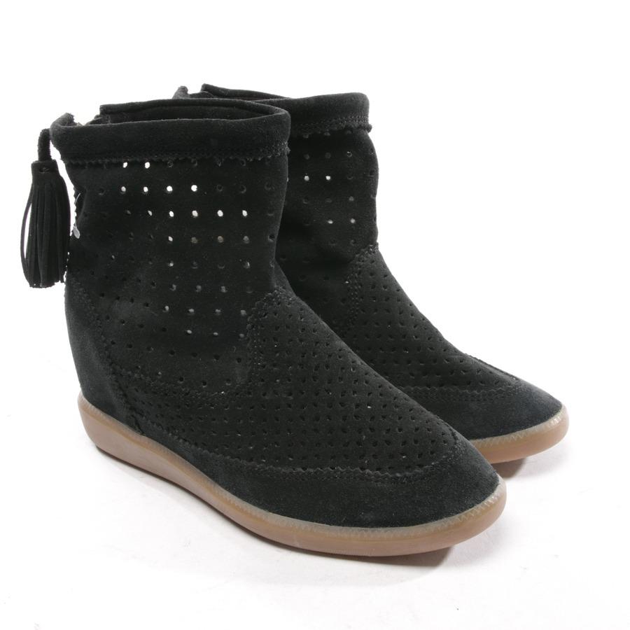 Details Damen Schuhe Stiefeletten GrD Neu Schwarz Basley Marant Isabel Zu 37 Boots MSUzVqp