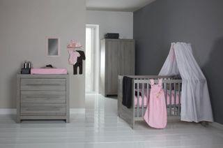 Europe Baby Kinderzimmer Vicenza Grau (inkl. Umbau Bett 70x140cm) – Bild 1
