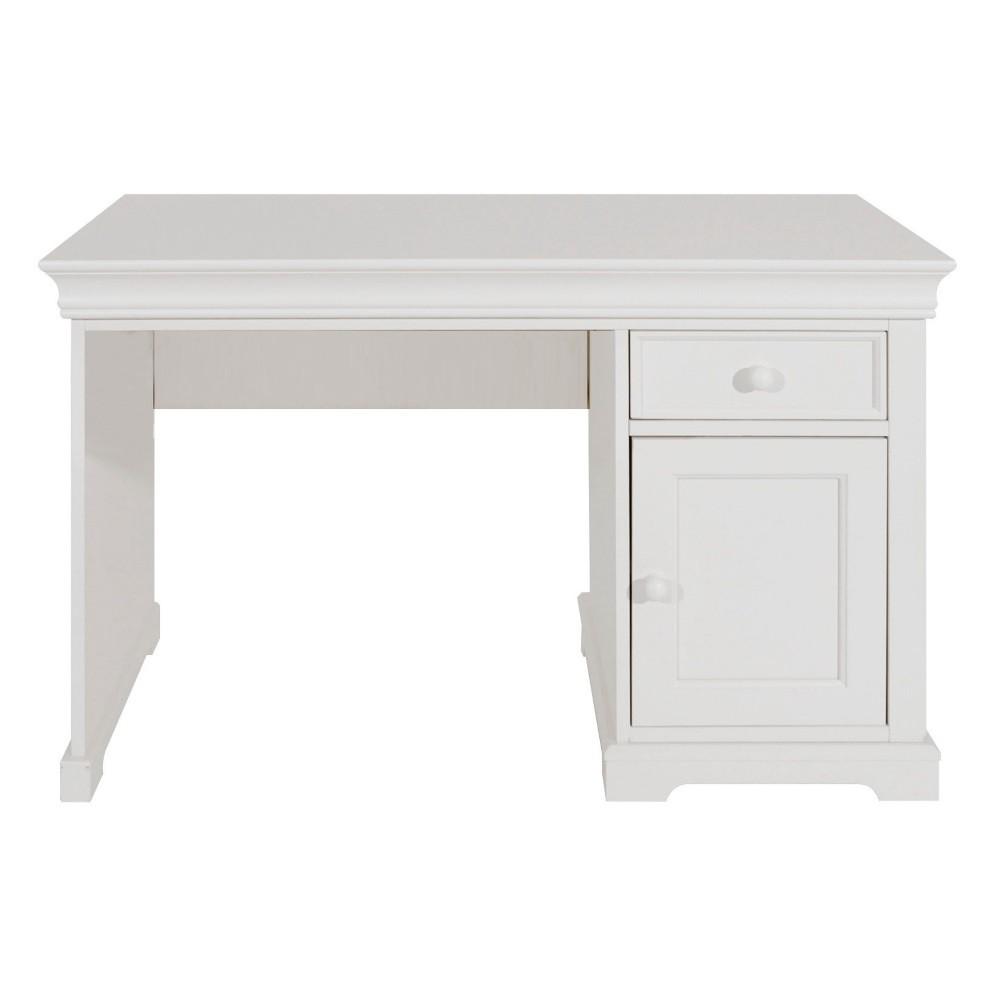 Landhausstil Schreibtisch Weiss