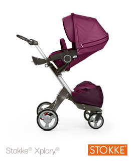 Stokke® Xplory® stroller purple Version 2012