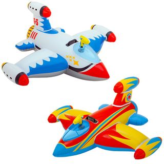 Intex 56539 - Aufblasbares Raumschiff Spaceship Ride On, 2-er Set