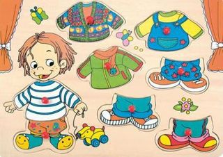 Johntoy 22083 - Dress Up Puzzle