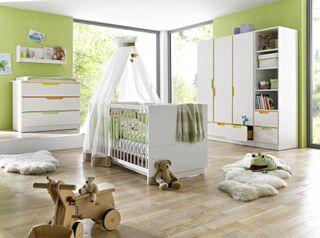 Geuther 1167 Kinderzimmer 3-teilig Fresh