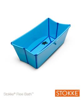 Stokke FLEXI BATH Babywanne Blue - blau 328802 – Bild 1