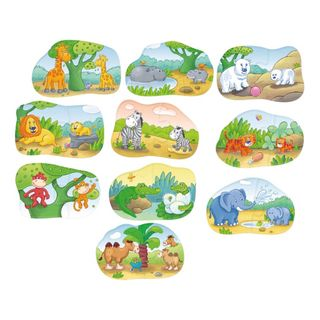 Haba 7466 Display 1, 2, Puzzelei Tierkinder – Bild 2