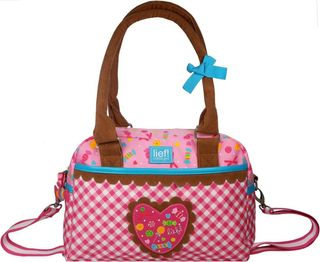 Lief! 440-5392 - Sweet and Treats Schultertasche mit Griff rosa
