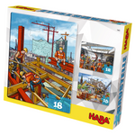 Haba 7465 - Puzzles Baustelle