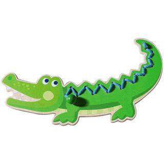 Haba 300190 Fädeltier Krokodil