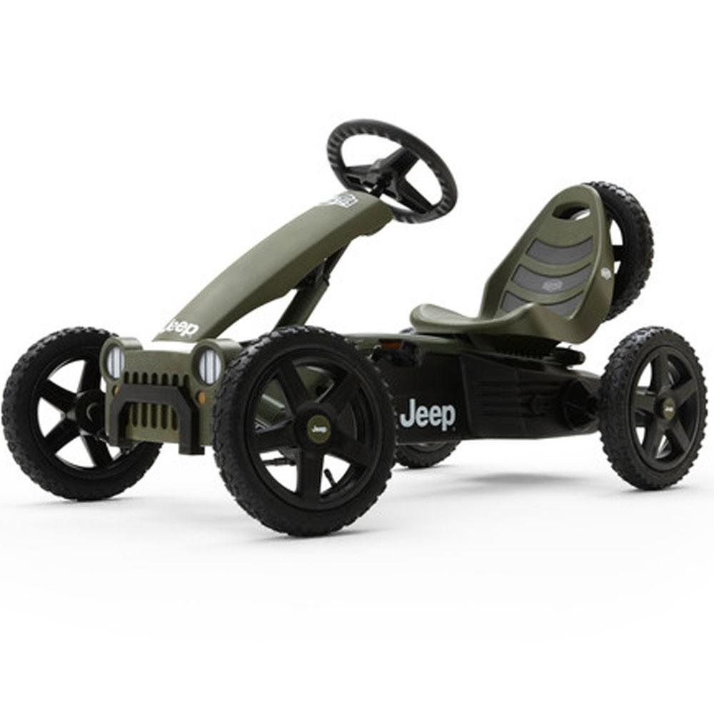 Bergtoys Jeep Adventure Pedal-Gokart
