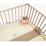 Be Be's Collection 751-10 Nicki-Laufgittereinlage Kleine Prinzessin, ecru/rose