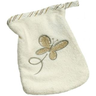 Baby Waschlappen Be Be's Collection Butterfly - braun