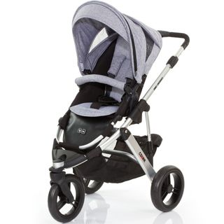ABC Design Cobra Kinderwagen - graphite/silver/black -  – Bild 1