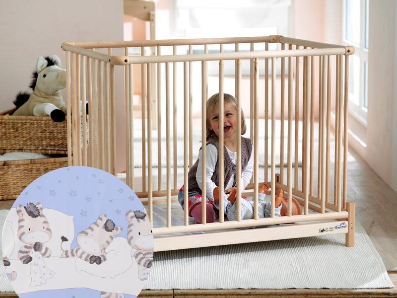 Laufgitter - Geuther 2234 NA 97 Laufgitter Euro Parc 102x102cm  - Onlineshop Babyprofi