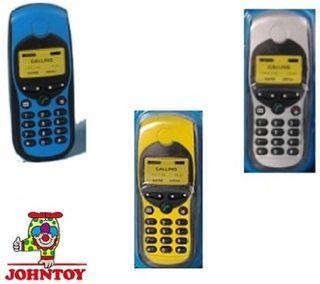 Johntoy 29166 Mobiltelefon mit Batterien