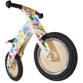 Kiddimoto 624 Premium Laufrad Splatz / Farbkleckse