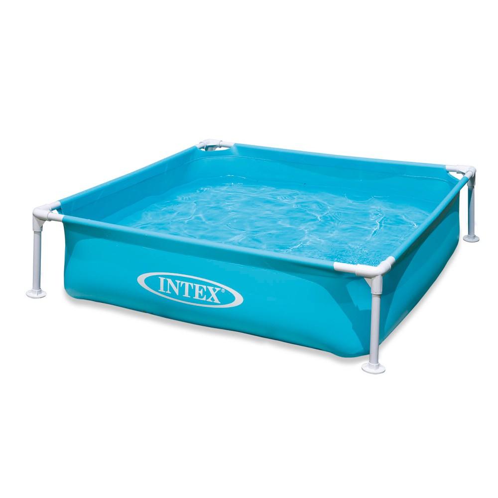 intex 57173np frame pool mini blau marken intex schwimmbecken. Black Bedroom Furniture Sets. Home Design Ideas