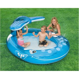 Intex 57435NP - Planschbecken Spray Pool Wal – Bild 2