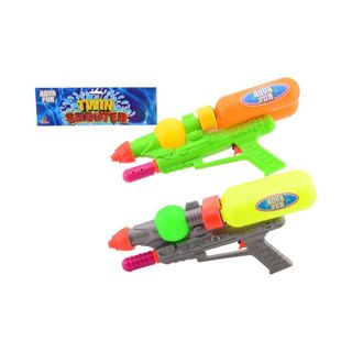 Johntoy 26930 Aqua Fun Twin Shooter - Wasserpistole +/- 42cm