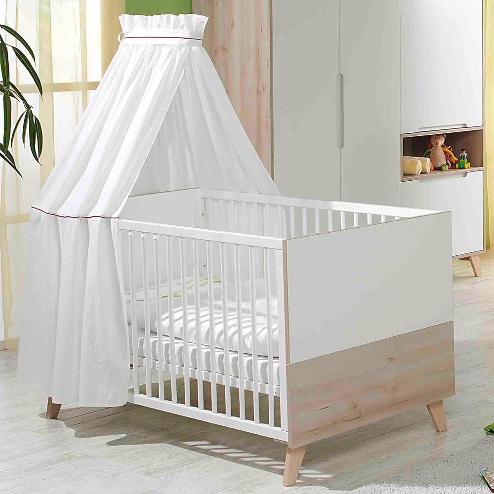 Geuther mette kinderbett mit umbauseiten buche wei m bel babyzimmer - Babyzimmer geuther ...