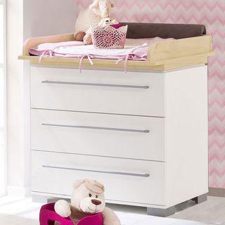 Paidi Kira Babyzimmer mit Schrank 3-türig, Eiche-Nebraska – Bild 3