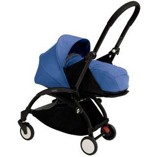 Babyzen YoYo+ 0+ Buggy, schwarz/blau – Bild 1