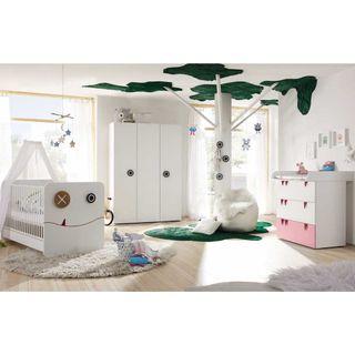 Hülsta Now! Babyzimmer Minimo Komplett-Set 3trg mit Wickelauflage – Bild 4